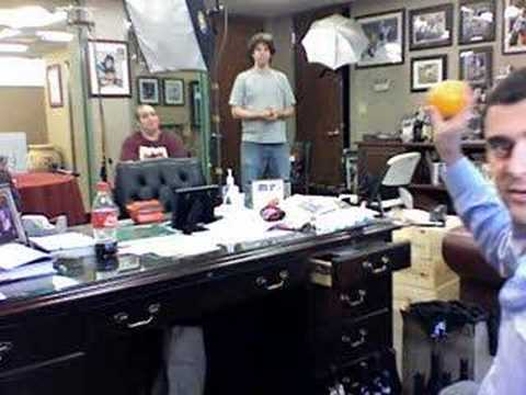 Chad Pennington vs Kellen Clemens using an Orange