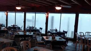 ef0 tornado from inside marinadeck restaurant in ocean city 8 1 16