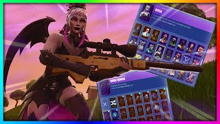 "Before You Grind ""DUSK"" - All Skin and Back Bling's Combinations in Fortnite (SEASON 6 REWARD)"