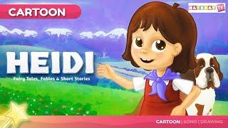 Heidi  | हाईडी |  बच्चों की नयी हिंदी कहानियाँ