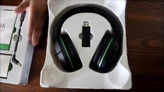turtle beach ear force stealth 420x wireless xbox one gaming headstet unboxing