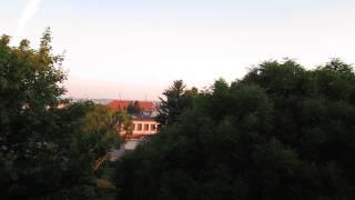 Konec noční směny v železárnách MONTEFERRO HRÁDEK a.s.