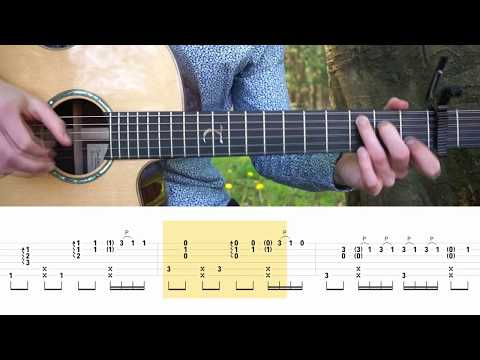 Luis Fonsi - Despacito (ft. Justin Bieber) - Fingerstyle Guitar Tutorial (lesson) Free Tabs