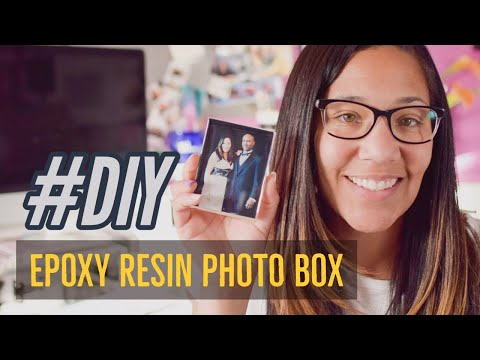 DIY Epoxy Resin Photo Boxes