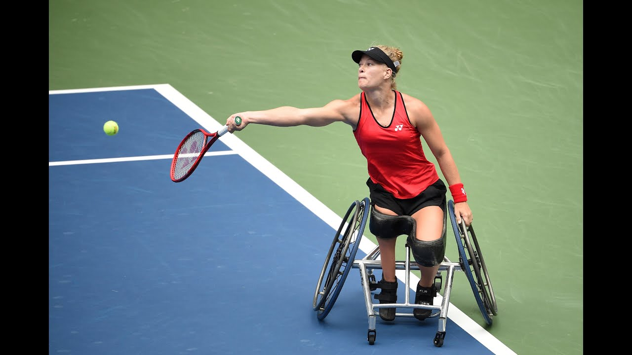 Diede De Groot vs Jordanne Whiley | US Open 2020 Quarterfinal
