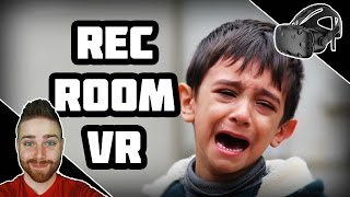 Kid Dabbed, Gets Stabbed - Rec Room VR [HTC Vive]