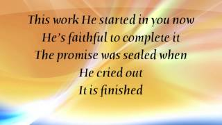 MercyMe - Finish What He Started - with lyrics (2014)