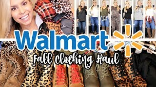 WALMART TRY ON CLOTHING HAUL | AFFORDABLE FALL & WINTER FASHION