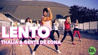 Thalía, Gente De Zona - Lento By Lessier Herrera Zumba