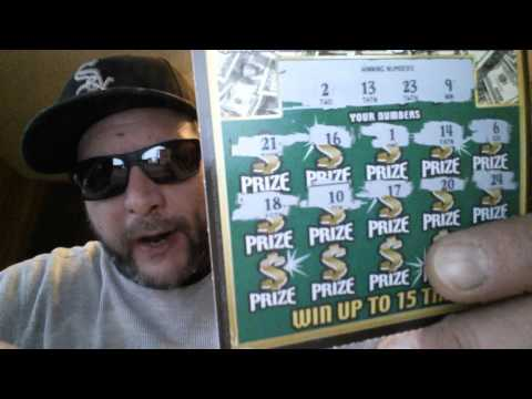 $5 IL. LOTTO SCRATCHCARDS - LUCKY LOOT TICKS. #009 & #010...