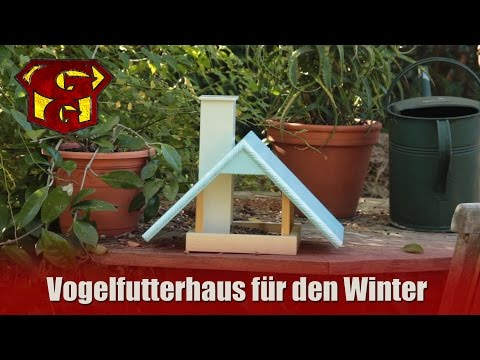 winter futterhaus f r wildv gel selber bauen doovi. Black Bedroom Furniture Sets. Home Design Ideas