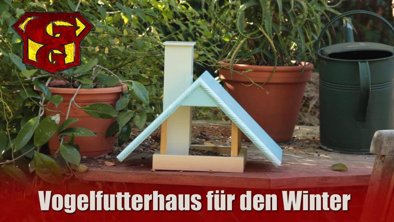 vogelfutterhaus f r den winter selber bauen garagengurus 9 youtube. Black Bedroom Furniture Sets. Home Design Ideas