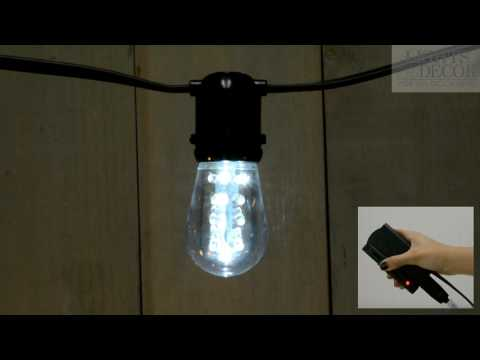 Cool White Dimmable LED S14 Edison Bulb Cool White