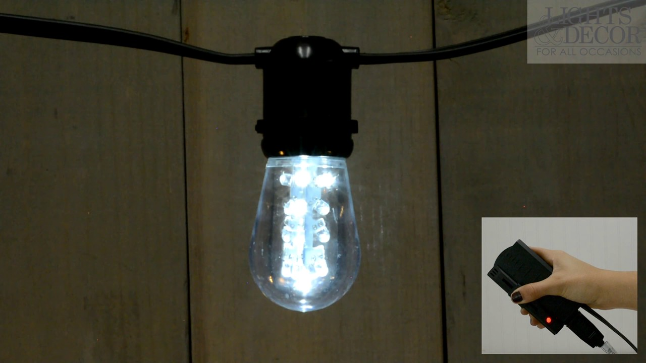 Cool White Dimmable Led S14 Edison Bulb