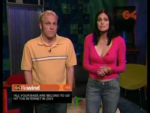 Morgan webb shows cleavage X Play Rewind 2004