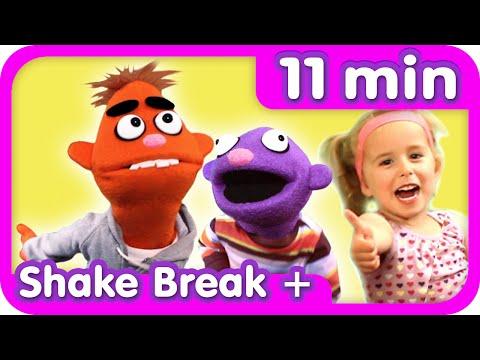 SHAKE BREAK ♫ + More | Exercise + Movement | Kids Songs Collection | Pancake Manor
