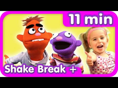 SHAKE BREAK Plus MORE! | 11 Minute Exercise For Kids | Pancake Manor