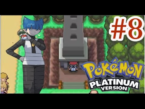 Let's Play Pokemon Platinum #8 Lost Tower