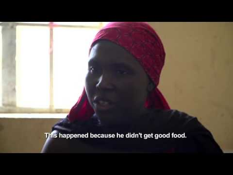 north - east Nigeria: Amina displaced by Boko Haram attacks on her village