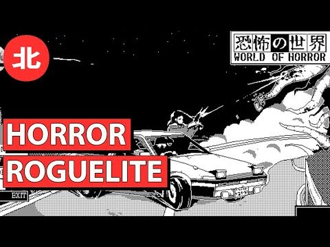 Junji Ito Inspired Horror Roguelite - World Of Horror (Northernlion Tries)