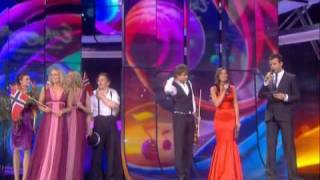 NORWAY -  EUROVISION 2009 WINNER - FINAL SONG - АЛЕКСАНДР РЫБАК - FAIRYTALE