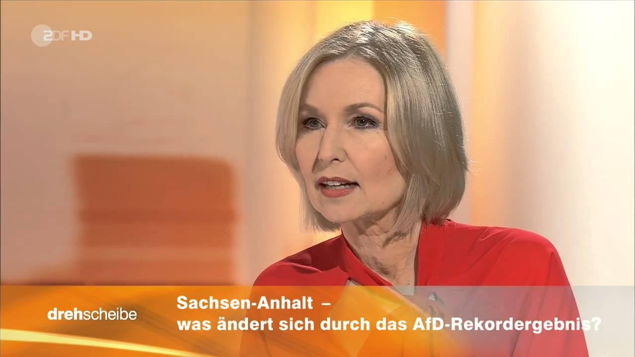 Zdf drehscheibe moderatorin hat schw cheanfall on air for Zdf moderatorin schlaganfall