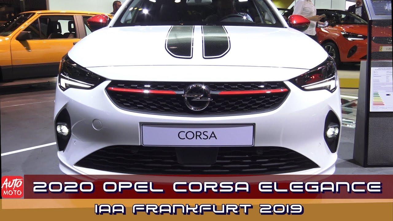 2020 Opel Corsa Elegance Youtube