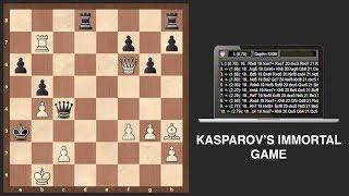 Best Chess Game Ever? Kasparov vs Topalov (+ Computer Analysis)