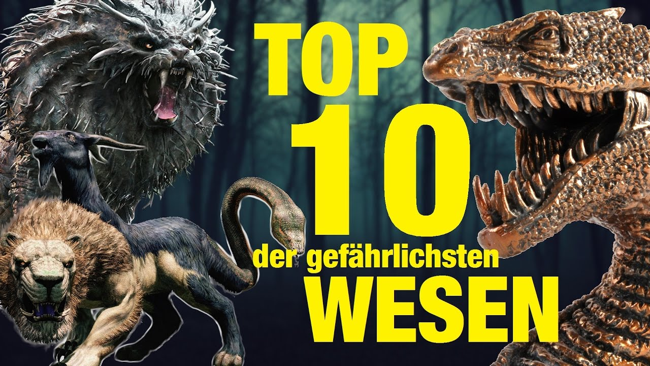 top 10 der gef hrlichsten tierwesen aus harry potter youtube. Black Bedroom Furniture Sets. Home Design Ideas