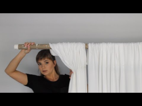 How To Drape Backdrop With Fabric | Setup