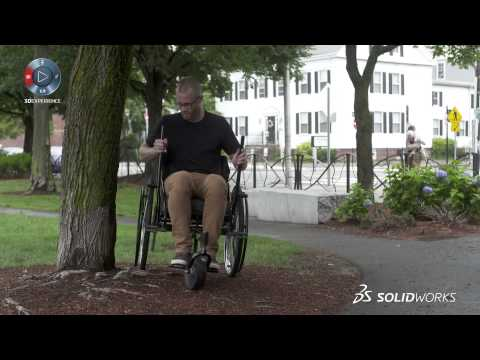 GRIT wheelchair improves mobility for the physically disabled