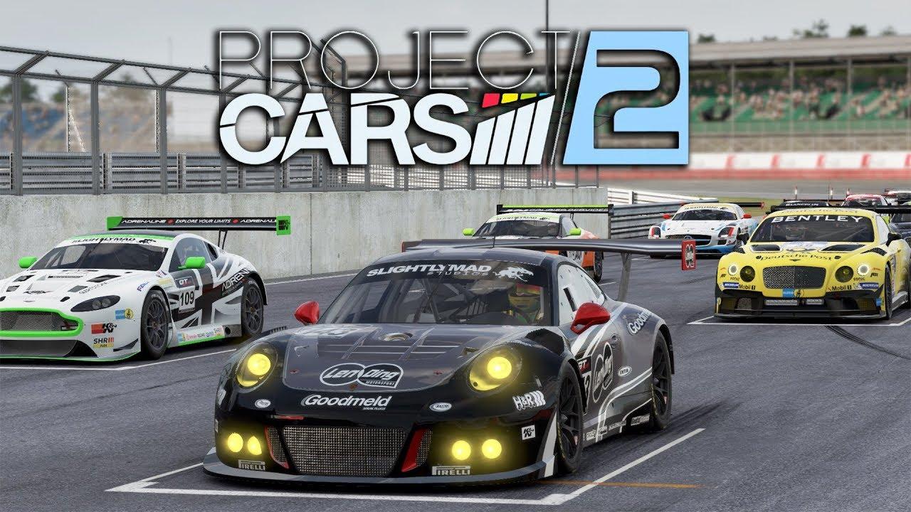 Project Cars 2 Wip Gt3 Race Porsche 911 Gt3 R Silverstone Gp