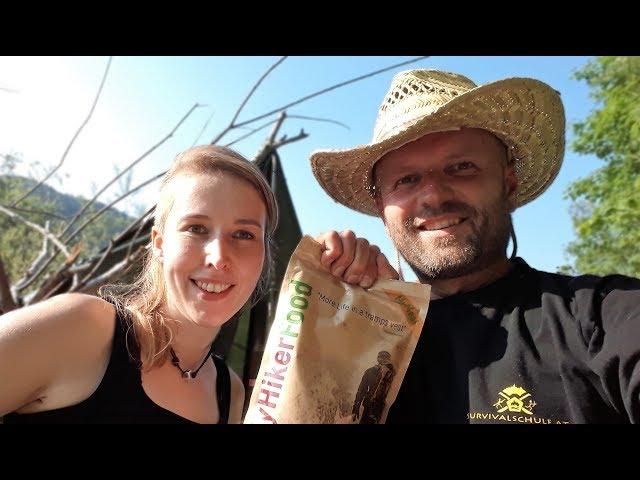 My Hiker Food, Löffel schnitzen und Grubenfeuer mit Chris