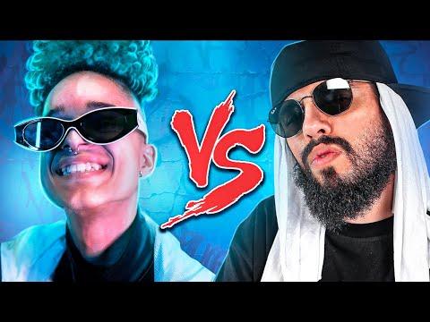 Jooj Natu (Baby Jooj) Vs. Mussoumano - Batalha de Youtubers