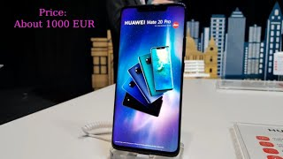 Huawei Mate 20 Pro - phone for the future generations