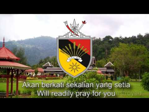 State Anthem of Negeri Sembilan (Malaysia) - Berkatlah Yang DiPertuan Besar Negeri Sembilan