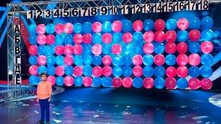 Шоу «Удивительные люди». Максим Саруханов. Уникальная память