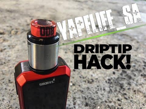 Custom Drip Tip DIY Vapelife Hack