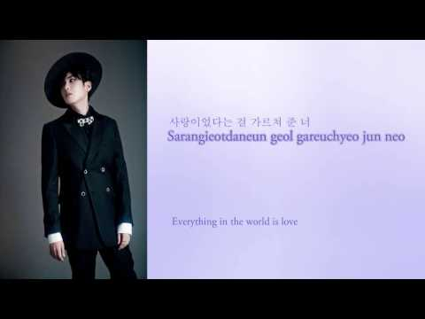 Super Junior - This Is Love Lyrics (Hangul/Romanization/English)