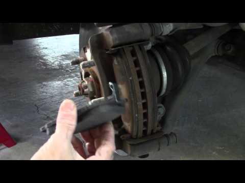 How to replace 2003 Hyundai Santa Fe front brake pads