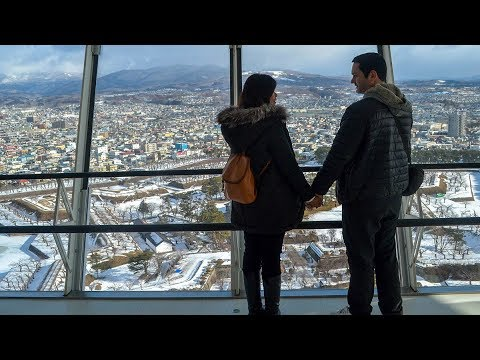 Tourist Attractions in Hakodate (Hokkaido) during Winter in Japan