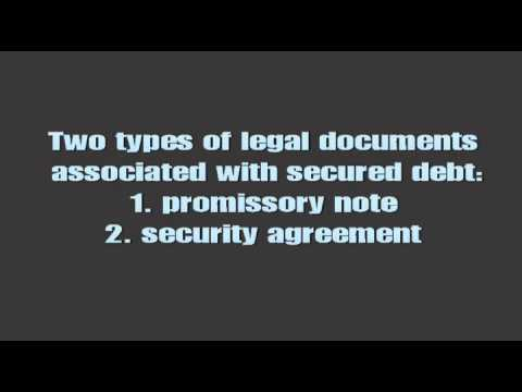 Secured vs. Unsecured Debts and Chapter 7 Reaffirmation