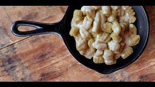 Ricetta Veloce Gnocchi Al Formaggio,quick Recipe Cheese Gnocchi,receta Rápida Queso ñoquis