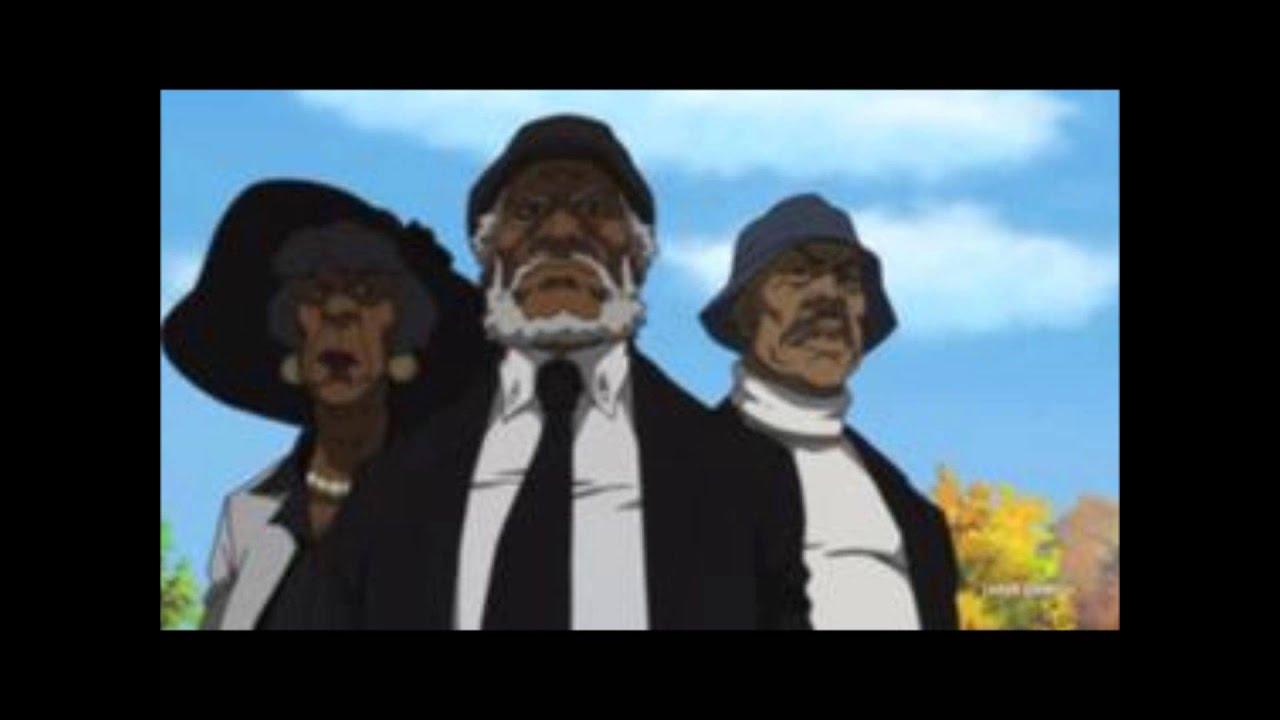 The Boondocks Bushido Brown Vs The Hateocracyextended Youtube
