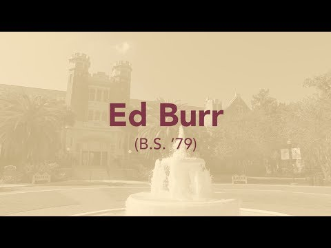 Ed Burr (B.S. '79) - Circle Of Gold, Fall 2018