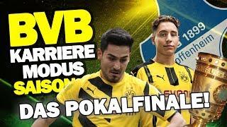 ENDLICH POKALFINALE! DFB Pokalfinale Vs TSG Hoffenheim ♕ FIFA 17 Karrieremodus BVB S3 #58