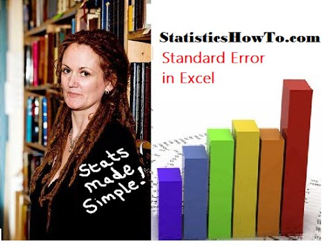 Standard Error Excel 2013 in Easy Steps - Statistics How To