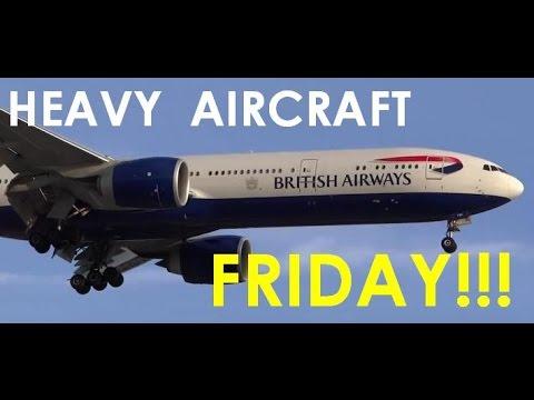 (HD) HEAVY AIRCRAFT FRIDAY!!! Plane Spotting Chicago O