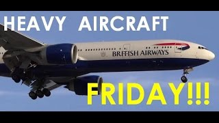 (HD) HEAVY AIRCRAFT FRIDAY!!! Plane Spotting Chicago O