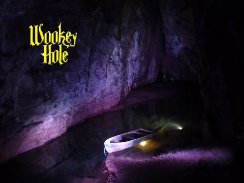 Wookey Hole Caves Tour, Somerset, UK